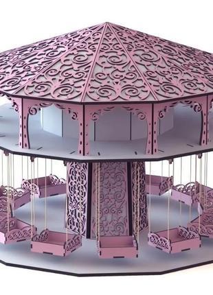 Підставка карусель для цукерок кенді бар подставка кенди