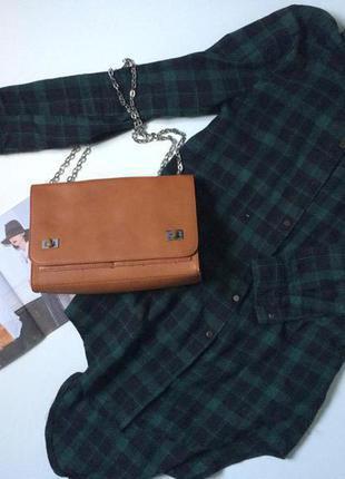 Рижа сумочка на цепочці parfois