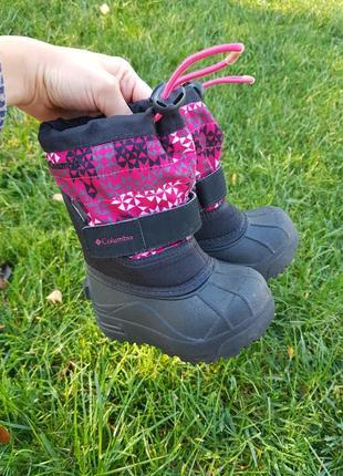 Термо ботинки зимние сноубутсы резиновые непромокаемые