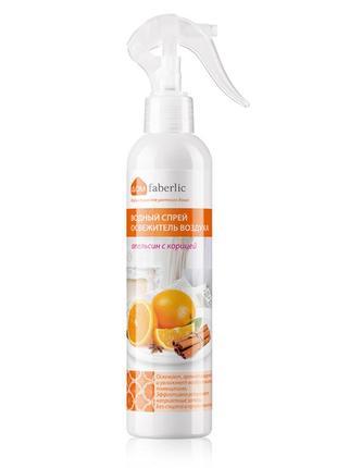 Водный спрей-освежитель воздуха «апельсин с корицей»