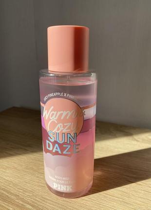 Мист/спрей для тела warm & cozy sun daze от victoria's secret