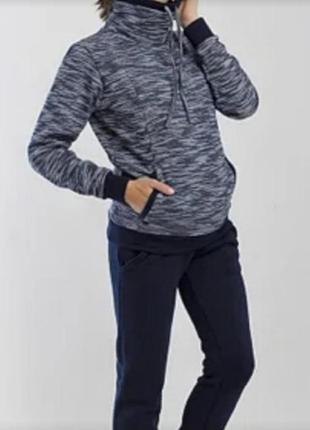 Теплый  зимний спортивный костюм для беременных