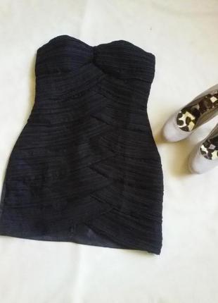 Очень красивое платье от груди р.36-38