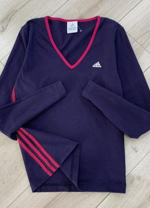 Новая хлопковая спортивная кофта adidas