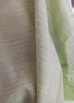 Отрез ткани лён тонкий рукоделие