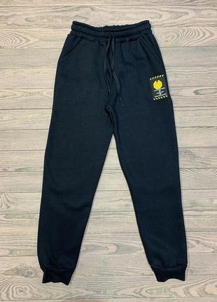 Теплые спортивные брюки для мальчика 8-14 лет.