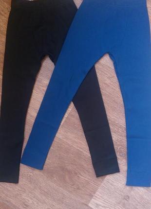 Теплые кальсоны смил 122-140р. 2 цвета кальсони сміл сині і чорні
