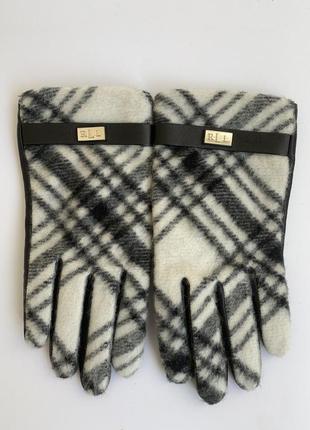 Женские зимние перчатки ralph lauren 🇺🇸