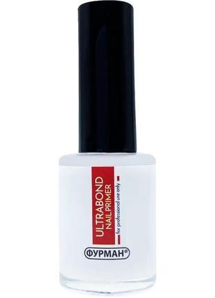 Безкислотный праймер фурман ultrabond nail primer furman 15 ml