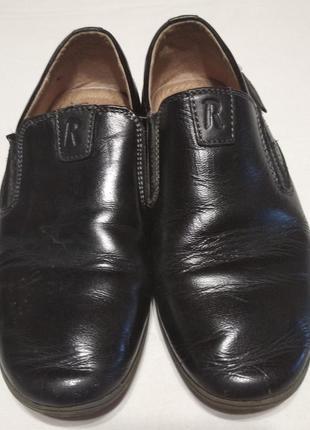 Туфли на мальчика кожаные