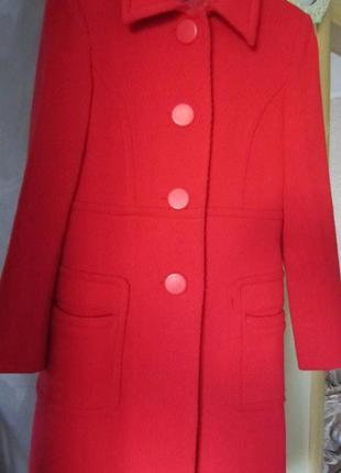Итальянское шерстяное пальто
