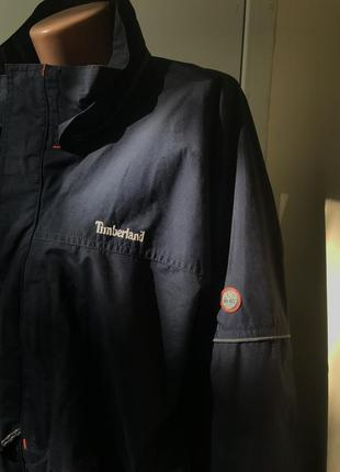 Утеплённая осенняя куртка-ветровка timberland оригинал  большого размера