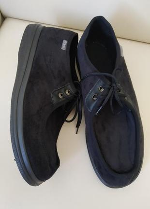 45 р. dr orto новые ортопедические диабетические туфли ботинки на широкую ногу
