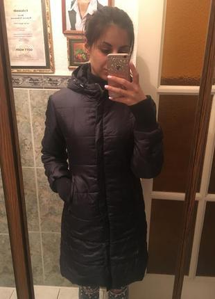 Зимнее пальто куртка пуховик (синтепон) s
