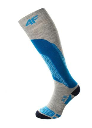 Шкарпетки лижні 4f warm 35-38 сірий 12-4fgrblu