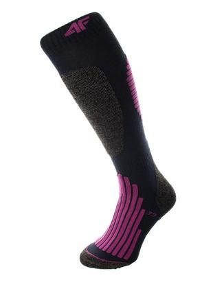Шкарпетки лижні 4f warm 39-42 чорний 15-4fblkvn
