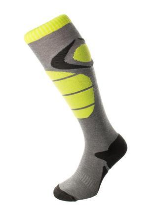 Шкарпетки лижні 4f warm 39-42 сірий 16-4fgrneon
