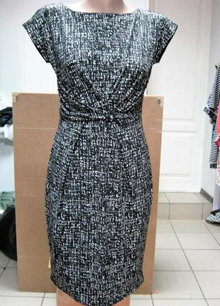 Эллегантное классическое платье из трикотажа