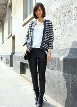 Твидовый  пиджак christopher banks 46-48р стиль шанель