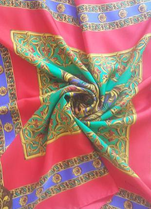 Шелковый платок emilio carducci.италия