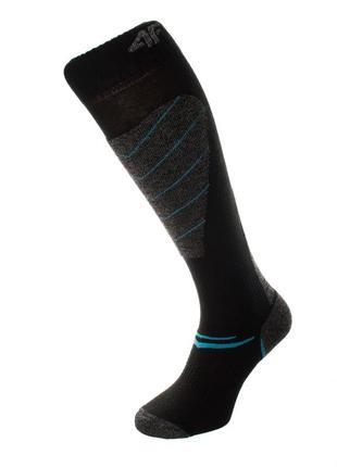 Шкарпетки лижні 4f warm 39-42 чорний 23-4fblgrblu