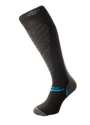 Шкарпетки лижні 4f warm 39-42 чорний 24-4fblkgr
