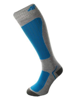Шкарпетки лижні 4f warm 43-46 сірий 35-4fgrblu