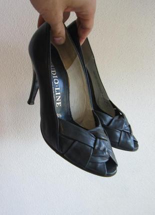 Кожаные туфли hause gabor