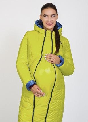 Двухсторонние пальто для беременных