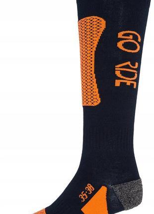Шкарпетки лижні 4f warm 39-42 синій 26-4fnavyorng
