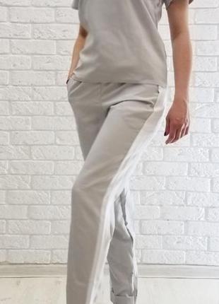 Костюм брюки футболка