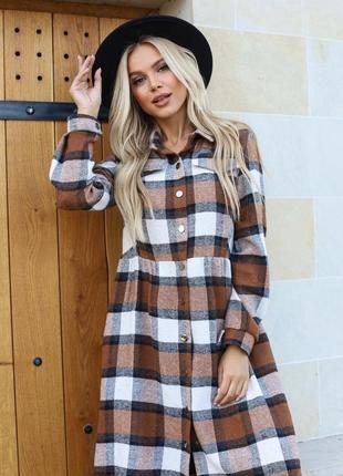 Хит продаж!🔥тёплые платья из байки в размерах 42-52
