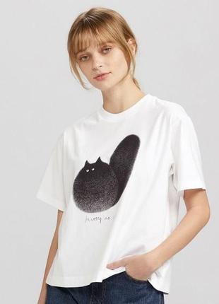 Uniqlo футболка cats s