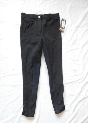 Р. 146-152, новые бриджи брюки carat для верховой езды, конного спорта