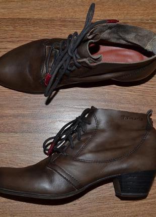 Р. 37 - 24.7 см. tamaris германия. ботинки, ботильоны фирменные оригинал