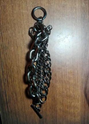 Массивный браслет цепь