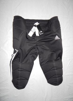Р. 2xl защитные шорты с защитой бедер и коленей adidas climalite
