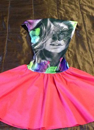 Супер нарядное молодежное платье