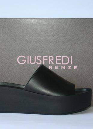 Сабо giusfredi оригинал италия натуральная кожа 36-40р