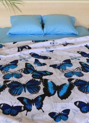 Качественные комплекты постельного белья бабочки мотыльки