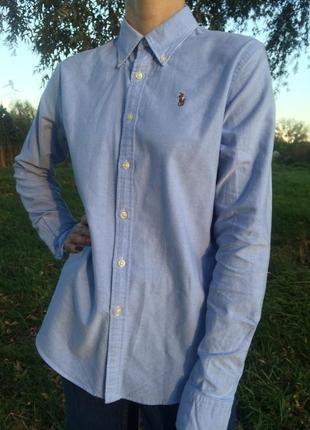 Шикарная базовая рубашка polo ralph lauren