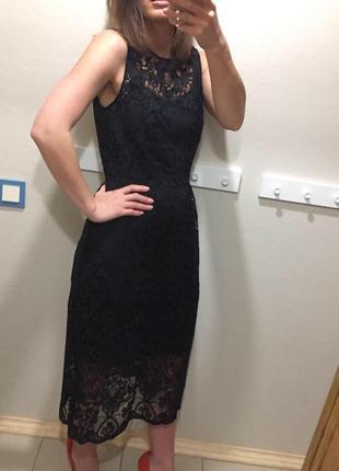 Кружевной платье