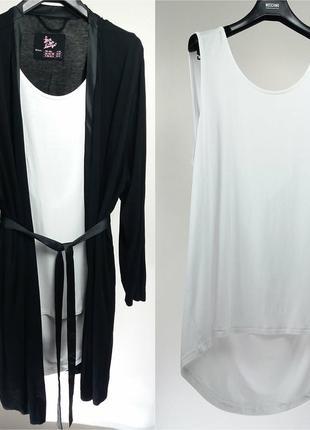 Легкий новый халат/комплект/майка/костюм для дома/набор