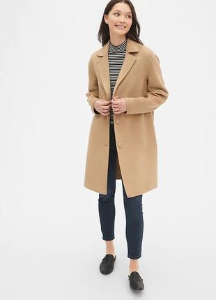 Супер пальто gap шерстяное
