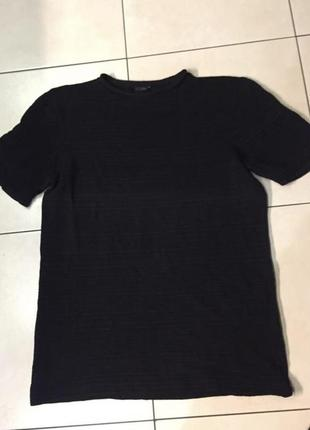 Блузка футболка туника чёрная кофта кофточка