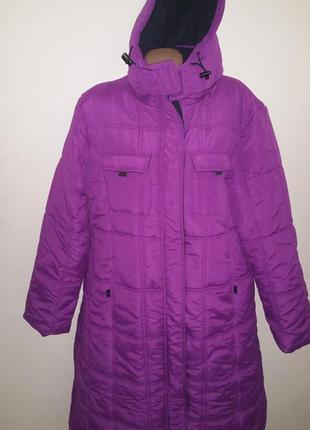 18р зима большой размер пальто cotton traders идеальное состояние
