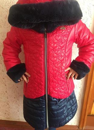 Тепла і комфортна курточка