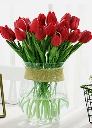 Тюльпан 1шт🌷🌷🌷силиконовый искусственные цветы растение
