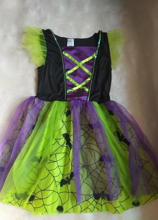 Платье карнавальное f&f хеллоуин , новый год