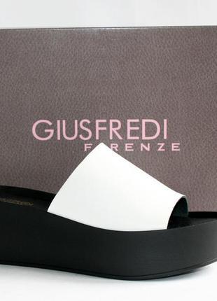 Сабо giusfredi firenze италия, оригинал. натуральная кожа. 36-41